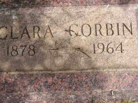 CORBIN, CLARA - Miner County, South Dakota | CLARA CORBIN - South Dakota Gravestone Photos