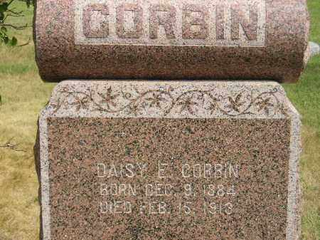 CORBIN, DAISY E. - Miner County, South Dakota | DAISY E. CORBIN - South Dakota Gravestone Photos
