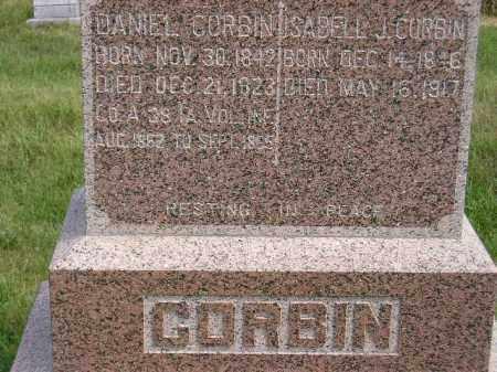 CORBIN, DANIEL - Miner County, South Dakota | DANIEL CORBIN - South Dakota Gravestone Photos