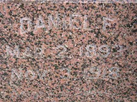 CORBIN, DANIEL F. - Miner County, South Dakota | DANIEL F. CORBIN - South Dakota Gravestone Photos