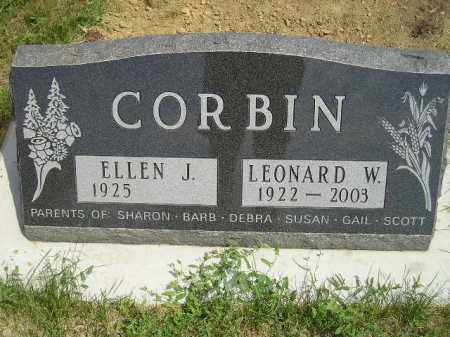 CORBIN, ELLEN J. DRISCOLL - Miner County, South Dakota | ELLEN J. DRISCOLL CORBIN - South Dakota Gravestone Photos