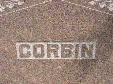CORBIN, FAMILY STONE - Miner County, South Dakota | FAMILY STONE CORBIN - South Dakota Gravestone Photos