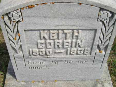 CORBIN, KEITH - Miner County, South Dakota | KEITH CORBIN - South Dakota Gravestone Photos