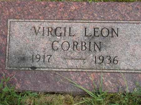 CORBIN, VIRGIL LEON - Miner County, South Dakota | VIRGIL LEON CORBIN - South Dakota Gravestone Photos