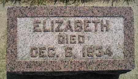 COSTELLO, ELIZABETH - Miner County, South Dakota | ELIZABETH COSTELLO - South Dakota Gravestone Photos
