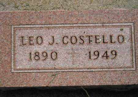 COSTELLO, LEO J. - Miner County, South Dakota | LEO J. COSTELLO - South Dakota Gravestone Photos