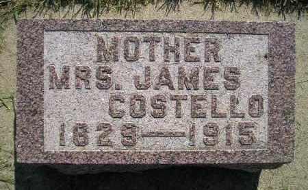 COSTELLO, MRS. JAMES - Miner County, South Dakota | MRS. JAMES COSTELLO - South Dakota Gravestone Photos