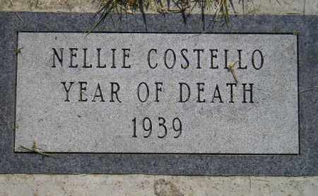 COSTELLO, NELLIE - Miner County, South Dakota | NELLIE COSTELLO - South Dakota Gravestone Photos
