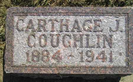 COUGHLIN, CARTHAGE J. - Miner County, South Dakota | CARTHAGE J. COUGHLIN - South Dakota Gravestone Photos
