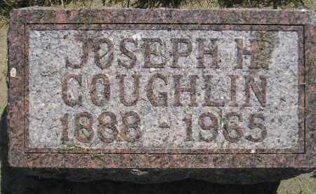 COUGHLIN, JOSEPH H. - Miner County, South Dakota | JOSEPH H. COUGHLIN - South Dakota Gravestone Photos