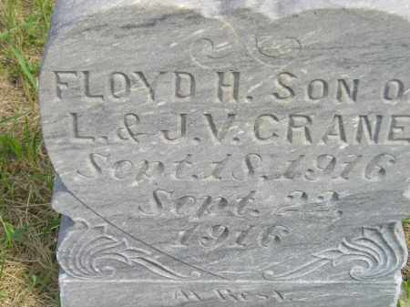 CRANE, FLOYD H. - Miner County, South Dakota | FLOYD H. CRANE - South Dakota Gravestone Photos