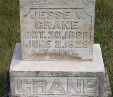 CRANE, JESSE V. - Miner County, South Dakota | JESSE V. CRANE - South Dakota Gravestone Photos