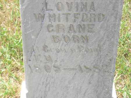 CRANE, LOVINA - Miner County, South Dakota | LOVINA CRANE - South Dakota Gravestone Photos
