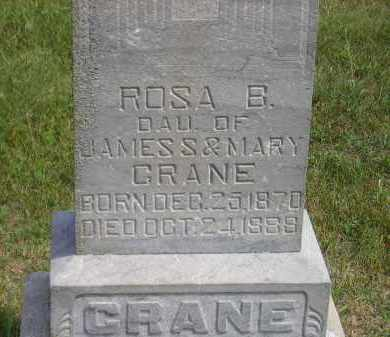 CRANE, ROSA B. - Miner County, South Dakota | ROSA B. CRANE - South Dakota Gravestone Photos