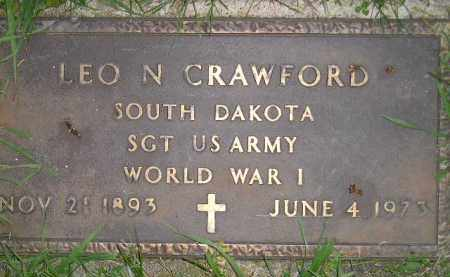 CRAWFORD, LEO N. (WW I) - Miner County, South Dakota | LEO N. (WW I) CRAWFORD - South Dakota Gravestone Photos