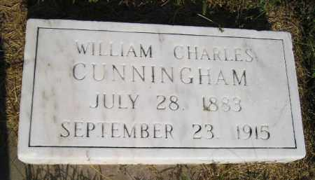 CUNNINGHAM, WILLIAM CHARLES - Miner County, South Dakota | WILLIAM CHARLES CUNNINGHAM - South Dakota Gravestone Photos