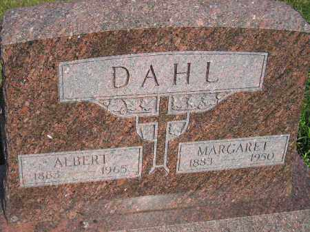 DAHL, MARGARET - Miner County, South Dakota | MARGARET DAHL - South Dakota Gravestone Photos