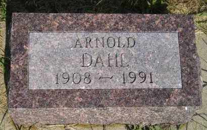 DAHL, ARNOLD - Miner County, South Dakota | ARNOLD DAHL - South Dakota Gravestone Photos