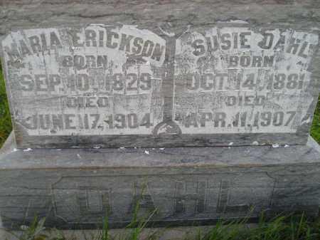 DAHL-ERICKSON, MARIA - Miner County, South Dakota | MARIA DAHL-ERICKSON - South Dakota Gravestone Photos