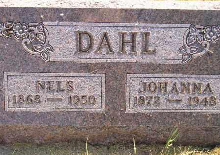 DAHL, JOHANNA - Miner County, South Dakota | JOHANNA DAHL - South Dakota Gravestone Photos