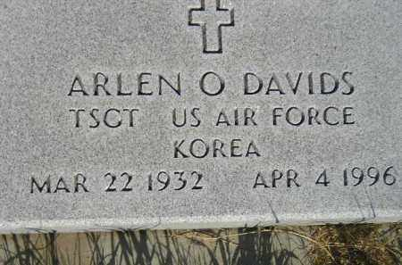 DAVIDS, ARLEN O. (MILITARY) - Miner County, South Dakota | ARLEN O. (MILITARY) DAVIDS - South Dakota Gravestone Photos