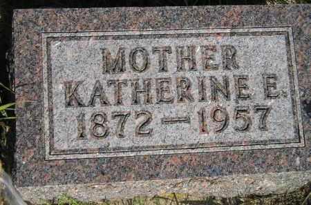 DAVIDS, KATHERINE E. - Miner County, South Dakota | KATHERINE E. DAVIDS - South Dakota Gravestone Photos
