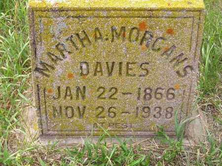 DAVIES, MARTHA - Miner County, South Dakota | MARTHA DAVIES - South Dakota Gravestone Photos