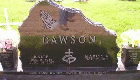 DAWSON, MARLYS A - Miner County, South Dakota | MARLYS A DAWSON - South Dakota Gravestone Photos
