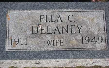 DELANEY, ELLA C. - Miner County, South Dakota | ELLA C. DELANEY - South Dakota Gravestone Photos
