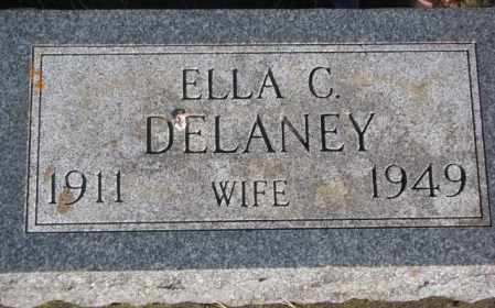DELANEY, ELLA C. - Miner County, South Dakota | ELLA C. DELANEY - South Dakota Gravestone Photos