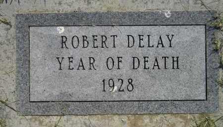 DELAY, ROBERT - Miner County, South Dakota | ROBERT DELAY - South Dakota Gravestone Photos