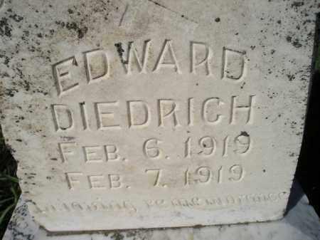 DIEDRICH, EDWARD - Miner County, South Dakota | EDWARD DIEDRICH - South Dakota Gravestone Photos