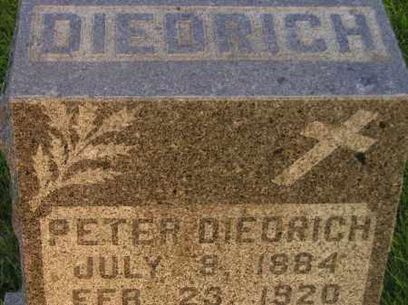 DIEDRICH, PETER - Miner County, South Dakota | PETER DIEDRICH - South Dakota Gravestone Photos