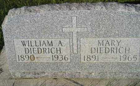 NEISES DIEDRICH, MARY (MAYME) - Miner County, South Dakota | MARY (MAYME) NEISES DIEDRICH - South Dakota Gravestone Photos