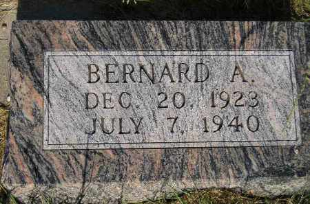 DONAHUE, BERNARD A. - Miner County, South Dakota | BERNARD A. DONAHUE - South Dakota Gravestone Photos