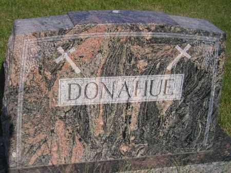 DONAHUE, FAMILY STONE - Miner County, South Dakota | FAMILY STONE DONAHUE - South Dakota Gravestone Photos