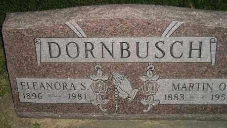 DORNBUSCH, MARTIN O. - Miner County, South Dakota | MARTIN O. DORNBUSCH - South Dakota Gravestone Photos