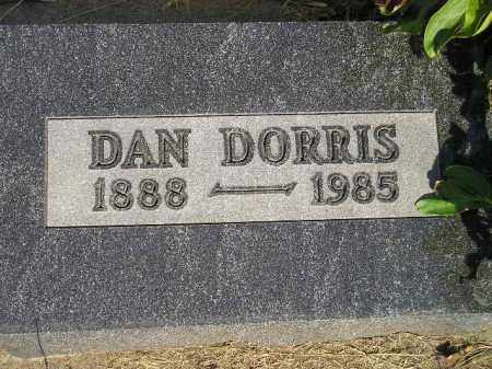 DORRIS, DAN - Miner County, South Dakota | DAN DORRIS - South Dakota Gravestone Photos