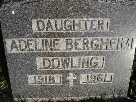DOWLING, ADELINE - Miner County, South Dakota | ADELINE DOWLING - South Dakota Gravestone Photos