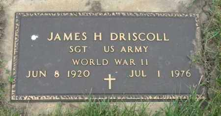 DRISCOLL, JAMES H. (WW II) - Miner County, South Dakota | JAMES H. (WW II) DRISCOLL - South Dakota Gravestone Photos