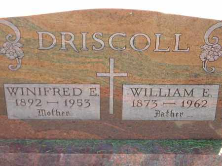 DRISCOLL, WINIFRED E. - Miner County, South Dakota | WINIFRED E. DRISCOLL - South Dakota Gravestone Photos