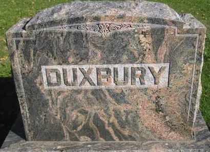 DUXBURY, FAMILY STONE - Miner County, South Dakota | FAMILY STONE DUXBURY - South Dakota Gravestone Photos
