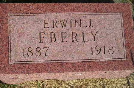 EBERLY, ERWIN J. - Miner County, South Dakota | ERWIN J. EBERLY - South Dakota Gravestone Photos