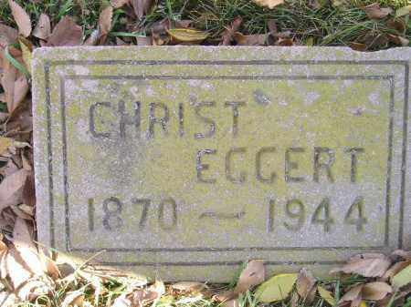 EGGERT, CHRIST - Miner County, South Dakota | CHRIST EGGERT - South Dakota Gravestone Photos