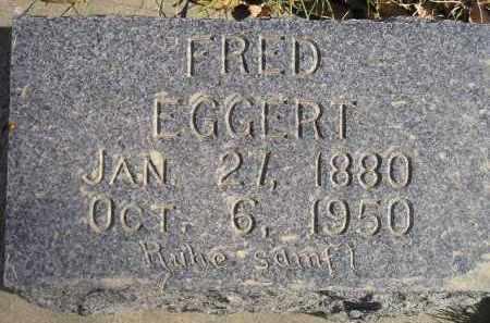 EGGERT, FRED - Miner County, South Dakota   FRED EGGERT - South Dakota Gravestone Photos