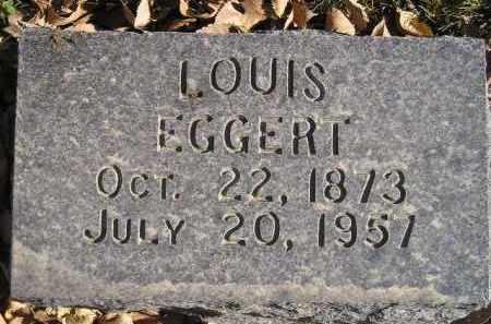 EGGERT, LOUIS - Miner County, South Dakota | LOUIS EGGERT - South Dakota Gravestone Photos