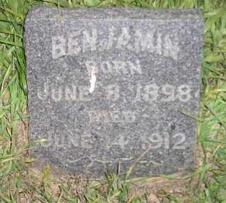 EICHMAN, BENJAMIN - Miner County, South Dakota | BENJAMIN EICHMAN - South Dakota Gravestone Photos
