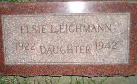 EICHMANN, ELSIE L. - Miner County, South Dakota | ELSIE L. EICHMANN - South Dakota Gravestone Photos