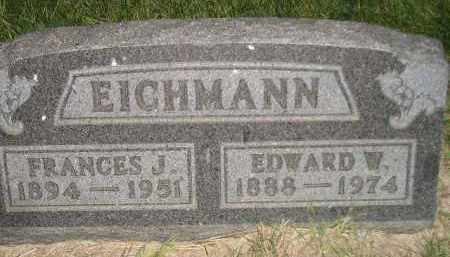 EICHMANN, FRANCES J. - Miner County, South Dakota | FRANCES J. EICHMANN - South Dakota Gravestone Photos