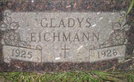 EICHMANN, GLADYS - Miner County, South Dakota | GLADYS EICHMANN - South Dakota Gravestone Photos